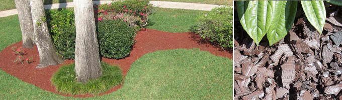 Rubber Mulch for Garden